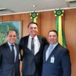 """Com Bolsonaro, Coronel David busca estratégias para """"sufocar"""" crime organizado nas fronteiras do MS"""